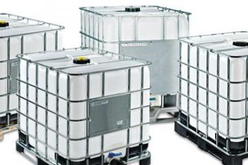 Bazin de apa rezervor IBC 1000 litri